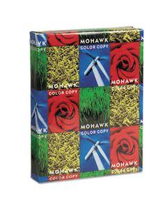 MOW36201 COLOR COPY GLOSS PAPER & COVER STOCK, 94 BRIGHT, 32LB, 8.5 X 11, PURE WHITE, 500/REAM