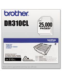 BRTDR310CL DR310CL DRUM UNIT, 25000 PAGE-YIELD, BLACK
