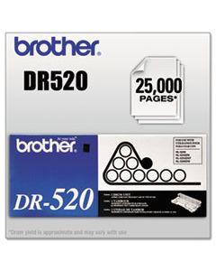 BRTDR520 DR520 DRUM UNIT, 25000 PAGE-YIELD, BLACK