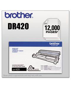 BRTDR420 DR420 DRUM UNIT, 12000 PAGE-YIELD, BLACK
