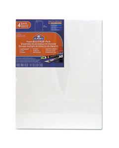 EPI950021 WHITE PRE-CUT FOAM BOARD MULTI-PACKS, 11 X 14, 4/PK