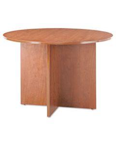 ALEVA7142MC ALERA VALENCIA ROUND CONFERENCE TABLE W/LEGS, 29 1/2H X 42 DIA., MEDIUM CHERRY
