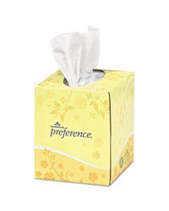 GPC462 PREFERENCE CUBE BOX FACIAL TISSUE, 2-PLY, WHITE, 100 SHEETS/BOX, 36 BOXES/CARTON