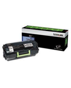 LEX52D1000 52D1000 TONER, 6000 PAGE-YIELD, BLACK