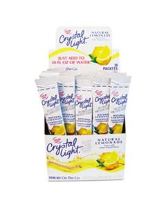 CRY79600 FLAVORED DRINK MIX, LEMONADE, 30 .17OZ PACKETS/BOX