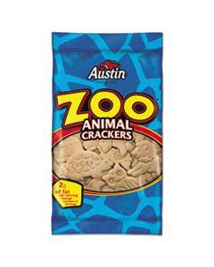 KEB40975 ZOO ANIMAL CRACKERS, ORIGINAL, 2OZ PACK, 80/CARTON