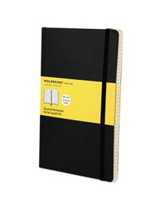 HBGMSL15 CLASSIC SOFTCOVER NOTEBOOK, 1 SUBJECT, QUADRILLE RULE, BLACK COVER, 8.25 X 5, 192 SHEETS