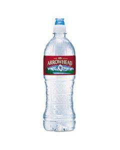 NLE827165 NATURAL SPRING WATER, 23.6 OZ BOTTLE, 24 BOTTLES/CARTON