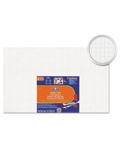 EPI905100 GUIDE-LINE PAPER-LAMINATED POLYSTYRENE FOAM DISPLAY BOARD, 30 X 20, WHITE, 2/PK