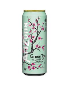 AZC827195 GREEN TEA WITH GINSENG & HONEY, 23 OZ CAN, 24/CASE