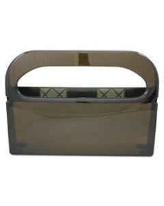 HOSHG12SMO HEALTH GARDS TOILET SEAT COVER DISPENSER, SMOKE, 16WX3-1/4DX11-1/2H