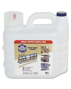 BKF12724 MORE SPRAY + FOAM CLEANER, 1.66 GAL BOTTLE, CITRUS, 2/CARTON