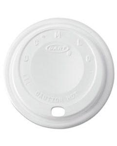 DCC8EL CAPPUCCINO DOME SIPPER LIDS, 8-10OZ CUPS, WHITE, 1000/CARTON