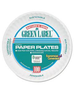 "AJMPP6AJKWH PAPER PLATES, 6"" DIAMETER, WHITE, BULK PACK, 1000/CARTON"