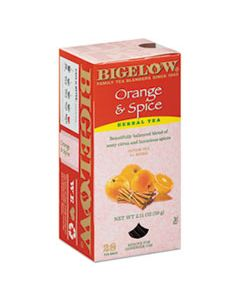BTC10398 ORANGE AND SPICE HERBAL TEA, 28/BOX