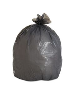 """BWK3036SH LOW-DENSITY WASTE CAN LINERS, 30 GAL, 0.95 MIL, 30"""" X 36"""", GRAY, 100/CARTON"""