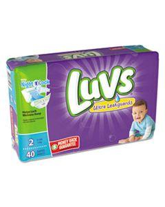 PGC85923 DIAPERS, SIZE 2: 12 LBS TO 18 LBS, 40/PACK, 2 PACK/CARTON