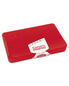 AVE21371 FOAM STAMP PAD, 4 1/4 X 2 3/4, RED