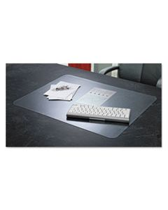 AOP60240MS KRYSTALVIEW DESK PAD WITH ANTIMICROBIAL PROTECTION, 22 X 17, MATTE FINISH, CLEAR