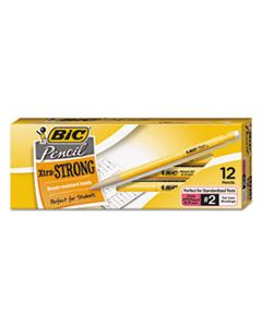 BICMPLWS11BLK XTRA-STRONG MECHANICAL PENCIL, 0.9 MM, HB (#2.5), BLACK LEAD, YELLOW BARREL, DOZEN