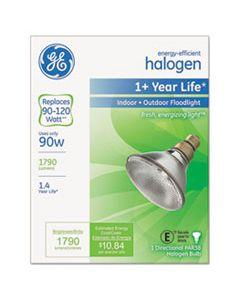 GEL62706 ENERGY-EFFICIENT PAR38 HALOGEN BULB, 90 W, CRISP WHITE