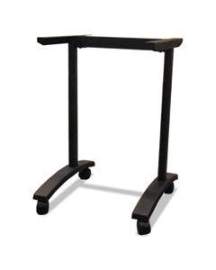 ALEVA7443BK ALERA VALENCIA SERIES TRAINING TABLE T-LEG BASE, 24 1/2W X 19 3/4D X 28 1/2H, BLACK