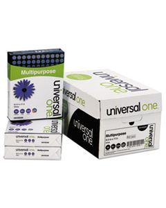 UNV95200 DELUXE MULTIPURPOSE PAPER, 98 BRIGHT, 20LB, 8.5 X 11, BRIGHT WHITE, 500 SHEETS/REAM, 10 REAMS/CARTON