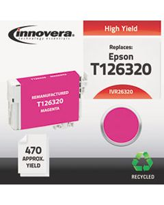 IVR26320 REMANUFACTURED T126320 (126) INK, 470 PAGE-YIELD, MAGENTA
