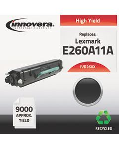 IVR260X REMANUFACTURED E260A11A (E260) HIGH-YIELD TONER, 9000 PAGE-YIELD, BLACK