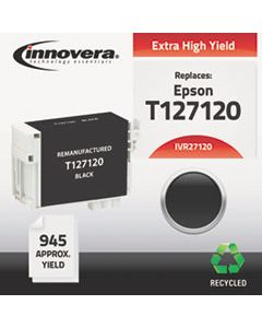IVR27120 REMANUFACTURED T127120 (127) INK, 945 PAGE-YIELD, BLACK