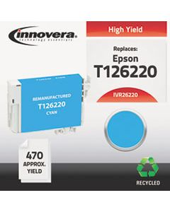 IVR26220 REMANUFACTURED T126220 (126) INK, 470 PAGE-YIELD, CYAN