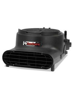 EUR6055A DRY TIME AIR MOVER, DAISY CHAIN CAPABLE, 3400 FPM, BLACK, 120 V