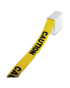 "IMP7328 SITE SAFETY BARRIER TAPE, ""CAUTION"" TEXT, 3"" X 1000FT, YELLOW/BLACK"