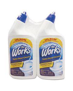 KIK33302WK DISINFECTANT TOILET BOWL CLEANER, 32 OZ BOTTLE, 2/PACK