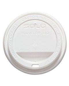 SCCTLP316 TRAVELER DRINK-THRU LID, FITS 10-24 OZ CUPS, WHITE, 1000/CARTON