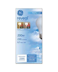 GEL89371 REVEAL A21 LIGHT BULB, 200 W