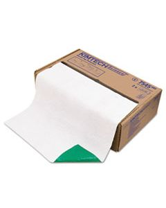KCC75450 BENCH TOP PROTECTOR, AIRLAID/POLY, GREEN/WHITE, 19 X 250 FT ROLL, 2/CARTON