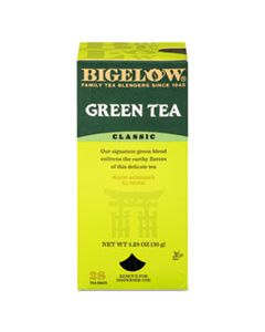 BTC00388 SINGLE FLAVOR TEA, GREEN, 28 BAGS/BOX