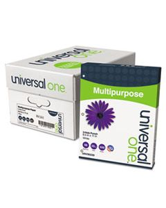 UNV95230 DELUXE MULTIPURPOSE PAPER, 98 BRIGHT, 3-HOLE, 20LB, 8.5 X 11, WHITE, 500 SHEETS/REAM, 10 REAMS/CARTON
