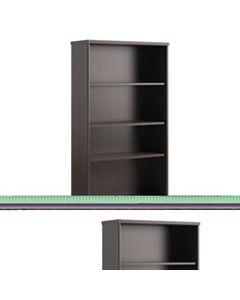 BSHPR76865 ENVOY SERIES FIVE-SHELF BOOKCASE, 29 7/8W X 11 3/4D X 66 3/8H, MOCHA CHERRY