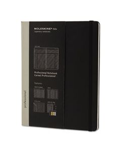 HBGPROPFNTB4HBK PROFESSIONAL NOTEBOOK, NARROW RULE, BLACK COVER, 9.75 X 7.5, 192 SHEETS