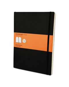 HBGMSX14 CLASSIC SOFTCOVER NOTEBOOK, 1 SUBJECT, NARROW RULE, BLACK COVER, 10 X 7.5, 192 SHEETS
