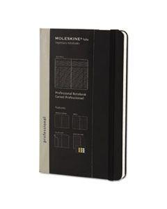 HBGPROPFNTB3HBK PROFESSIONAL NOTEBOOK, NARROW RULE, BLACK COVER, 8.25 X 5, 240 SHEETS