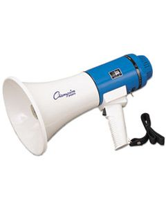 CSIMP12W MEGAPHONE, 12-25W, 1000 YARD RANGE, WHITE/BLUE