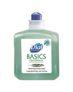 DIA06060 BASICS FOAMING HAND WASH, REFILL, HONEYSUCKLE, 1000 ML