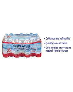 CGW35001CT ALPINE SPRING WATER, 16.9 OZ BOTTLE, 35/CASE
