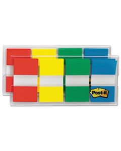 MMM680RYGB2 PAGE FLAGS IN PORTABLE DISPENSER, ASSORTED PRIMARY, 160 FLAGS/DISPENSER