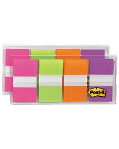 MMM680PGOP2 PAGE FLAGS IN PORTABLE DISPENSER, BRIGHT, 160 FLAGS/DISPENSER