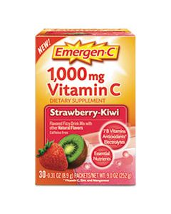 ALA130319 IMMUNE DEFENSE DRINK MIX, STRAWBERRY KIWI, 0.31 OZ PACKET, 30/BOX