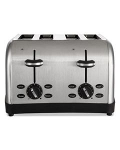 OSRRWF4S EXTRA WIDE SLOT TOASTER, 4-SLICE, 12 3/4 X 13 X 8 1/2, STAINLESS STEEL